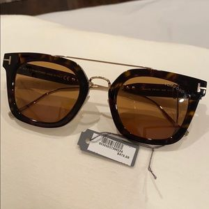 Tom Ford Unisex ALEX 51mm Sunglasses